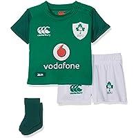 Canterbury Ireland Official 17/18 Equipación de Rugby, Unisex niños, Verde bósforo, M