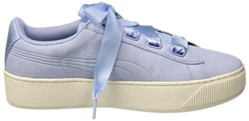 Puma Womens Vikky Platform Ribbon S Low-Top Sneakers, Cerulean-Cerulean, 5.5 UK UK 5.5 44409d