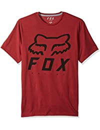 Fox Camiseta Heritage FORGER SS Tech tee 383 Heather Red d9c1ecb9974