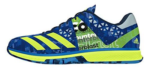 adidas Herren Counterblast Falcon Handballschuhe, Azul (Azuimp/Amasol/Azuhie), 48 EU