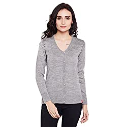 Women Grey Cardigan