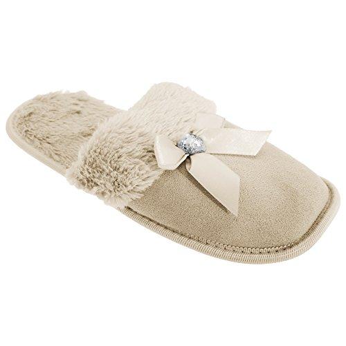 Universal Textiles, Pantofole donna Rosa