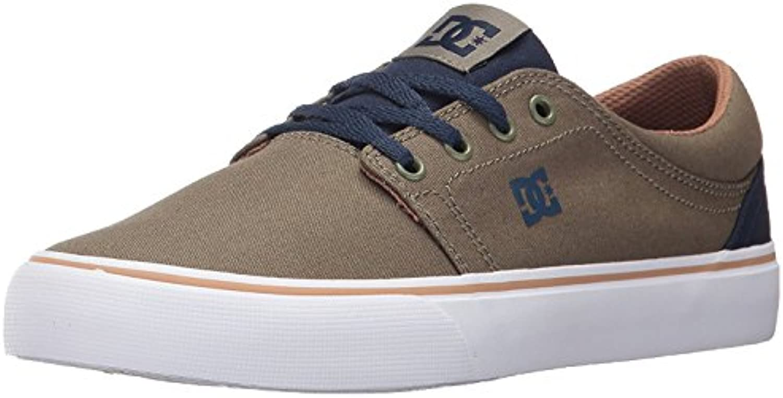 DC Men'S Trase TX Unisex Skate Shoe, Militar, 40.5 D(M) EU/7 D(M) UK