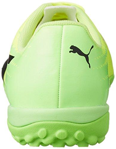 Puma Evospeed 17.4 Tt, Chaussures de Football Homme Jaune (Safety Yellow-puma Black-green Gecko 01)