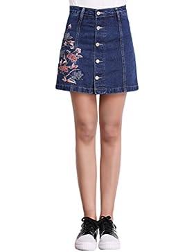 Sentao Mujeres Vintage Falda de