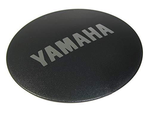 Haibike Abdeckkappe E-Bike Yamaha 2015,für PW motoren,Yamaha Logo Silber (1 Stück)