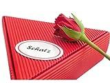 Geschenk Schatz Rosen- und Frucht Frühstückspaket 6 x 50g | gut als romantisches Geschenk zum Hochzeitstag oder Geschenke für Verliebte mit Liebe, Geschenk Frau, Freundin, Verlobte, Geschenke Mann, Mann 60, als dankeschön, chefin, danke, essen, gute besserung, geburtstag 30, hochzeit, korb, krankenschwester, lebensmittel, ruhestand, set für frauen, weihnachten, zum geburtstag, zum abschied, zum geburtstag 80 geburtstag, kleine geschenke für frauen,