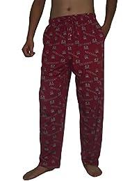 NCAA Mens Montana Grizzlies Cotton Sleepwear / Pajama Pants
