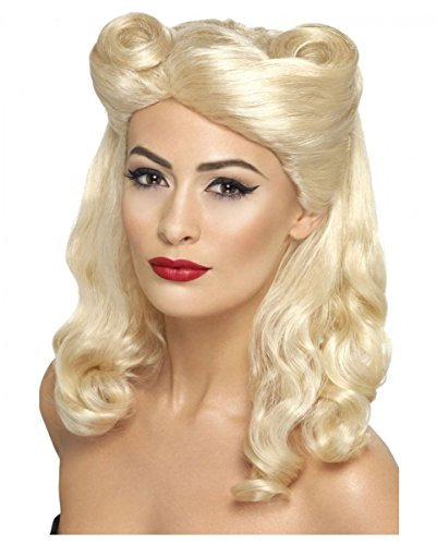 Blonde 40er - 50er Jahre Pin Up Girl -