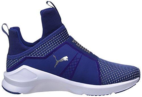 Puma Fierce Velvet Vr, Scarpe Sportive D'intérieur Donna Blu (blue Depths-islande Blue)