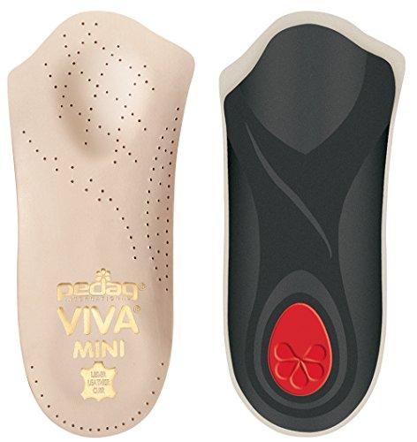 Pedag Viva Mini Orthopädische mit formstabilem Fußgewölbe, Mittelfuß und Ferse Pad, Leder (Viva Pedag Leder)