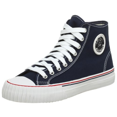 PF Flyers Unisex Center High Reissue BKC Sneaker,Navy,4 US Men's/5.5 M US Women's (Canvas-flyer)