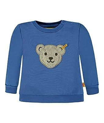 Steiff Collection Jungen Sweatshirt 1/1 Arm 6833483, Blau (Strong Blue 3083), 62