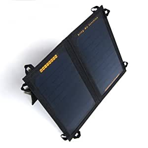 PortaPow 11 W Rainproof Dual USB Solar Charger with 2 Year Guarantee for SmartPhones, GoPro, Tablets