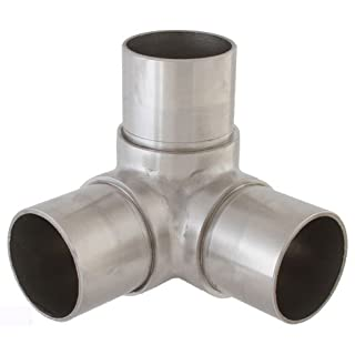 Eckverbinder Fitting für Rohr 42,4 x 2,0 mm - V2A (S014308)