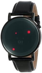 Binary THE ONE ODINS RAGE OR213R1 - Reloj digital de caballero de cuarzo con correa de piel negra - sumergible a 30 metros de 01 THE ONE