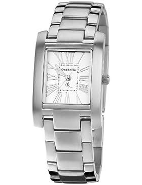 Orphelia Damen-Armbanduhr Solid Analog Quarz Edelstahl