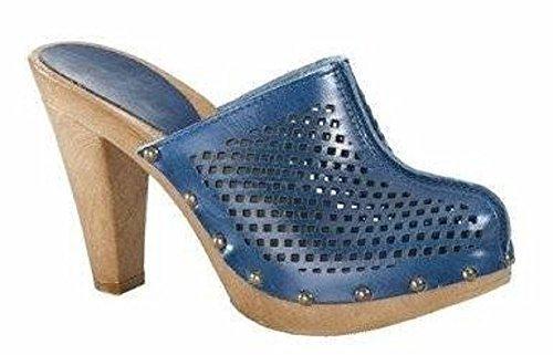 Clogs Aus Blau In Leder Von Chillany rfPwWqEr7