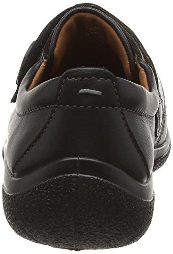 Hotter Sugar Ee,chaussure avec velcro hommefemme Noir