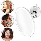 medisana CM 850 ronde make-up spiegel met sterke zuignap - tafelspiegel met LED-verlichting en 5x vergroting - make-up spiegel met 19 cm diameter