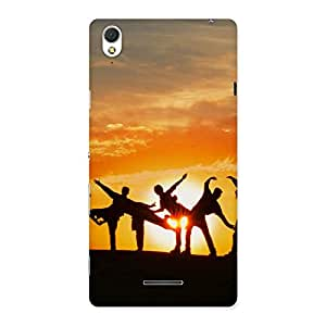 Neo World Sunset Crazy Back Case Cover for Sony Xperia T3