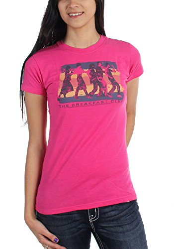 The Breakfast Club Line Up Womens Pink T-Shirt, XL only