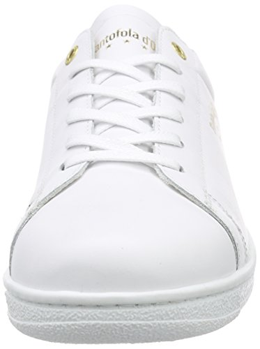Pantofola d'Oro Nereto, Baskets Basses homme Blanc - Weiß (BRIGHT WHITE)