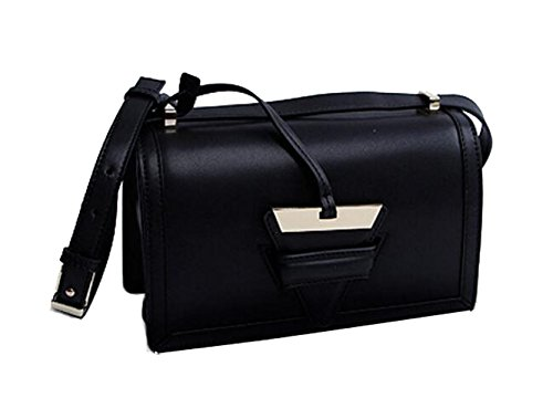 Ms. Messenger Bag In Pelle Black