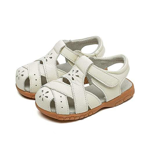 Jimmackey ragazzi ragazze scarpe sandali punta chiusa scarpette estate morbidi sandalo in pelle unisex - bambini scarpe in pelle morbida scarpine