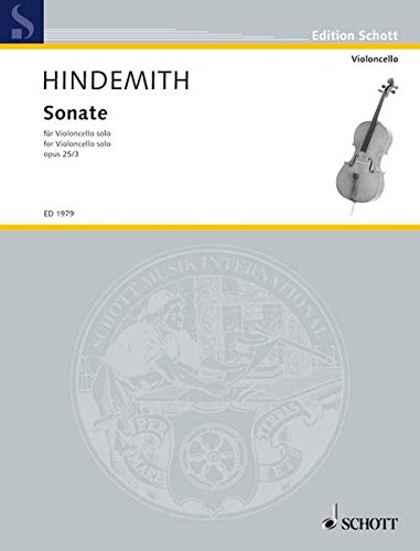 Sonate: op. 25/3. Violoncello. (Edition Schott)