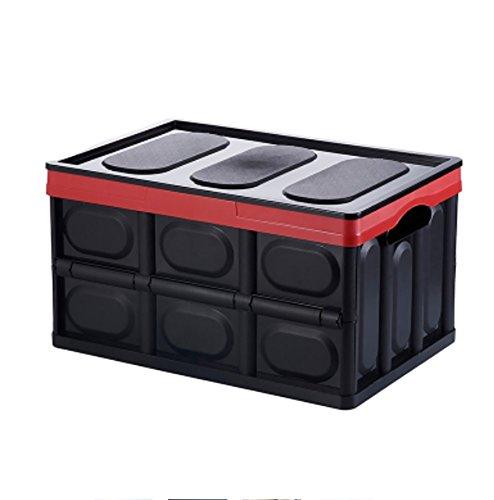 RUIX Kofferraumtaschen Auto-Kofferraum-Aufbewahrungsbox Multifunktions-Falten Aufbewahrungsbox Auto Finishing-Box Auto-Box