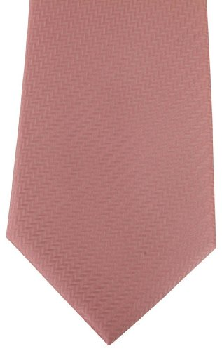 Rosa Spina di pesce Cravatte di David Van Hagen