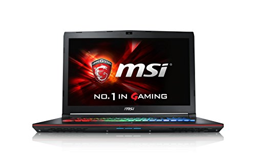 MSI GE62-6QF16H21 39,6 cm (15,6 Zoll) Notebook (Intel Core i7 -6700HQ (Skylake), 16GB DDR4 RAM, 1TB HDD, 256GB SSD, NVIDIA Geforce GTX 970M, Win 10 Home) schwarz (970 Grafikkarte Msi)
