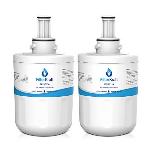 FilterKraft FK-3011A Nevera Congelador Cartucho Filtro Agua Interno para Samsung Aqua Pure...
