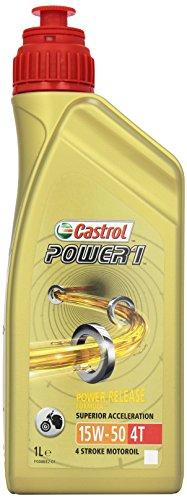 Castrol 15044D Olio Castrol Power 1 4t 15w-5 0 1lt Lubrificante moto
