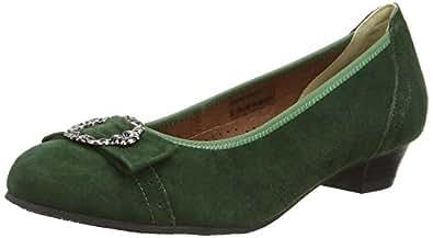 Hirschkogel By Andrea Conti 3009220, Women's Pumps, Green (147), 2.5 UK (35 EU)