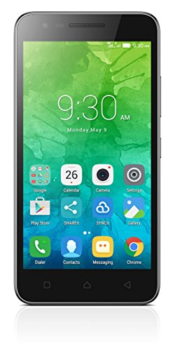 Lenovo C2 Smartphone LTE, Dual SIM, Display HD da 5.0 pollici, Processore MT6735p quad-core a 64 bit da 1.0 GHz, Fotocamera da 8 MP, RAM da 1 GB, Memoria Interna da 8 GB espandibile fino a 32 GB, Batteria da 2750 mAh, Nero [Italia]