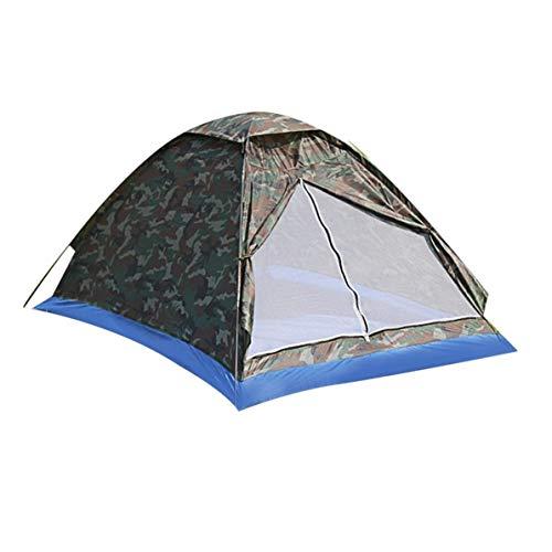DoMoment Zwei Personen Zelt, Single Layer Camping Wandern Zelte, Leichte Outdoor Beach Travel Picknick Angeln Zelt