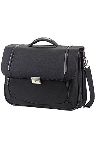 """Samsonite X'Blade Business 2.0 Briefcase 2 Gussets 16"""" Laptop-Tasche, Black Black"""