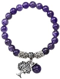 Thomas Sabo Women-Bracelet Charm Club 925 Sterling silver Obsidian black Length 18.5 cm X0219-023-11-L18,5