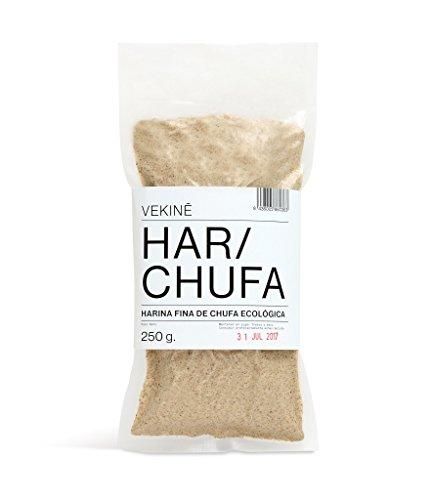 Harina de Chufa Ecologica 250 gr VEKINE Harina de Chufa Organic tigernuts para hacer horchata o usar en la repostería