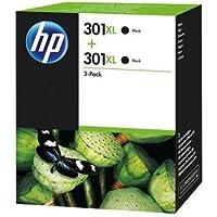 HP D8J45AE 301XL High Yield Original Ink Cartridges, Black, Pack of 1