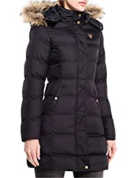 MISSY Girls Black Puffa Coat Jacket Quilted Hooded School Clothing Age, 7-8, 9-10, 11-12, 13 Wiz