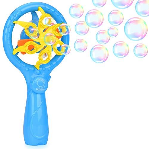 YUURLH Bubble Machine Früher Automatische tragbare Luftblasenmaschine  Robuster ABS Bubble Maker und Music Bubble Fan Perfekt for Kindergeburtstagsfeier, Hochzeit,  Indoor- und Outdoor-Spiele (Halloween-musik-aktivitäten Für Kindergarten)
