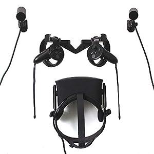 VR Wandhaken Standfuß für Oculus Rift Headset und Touch und Sensor