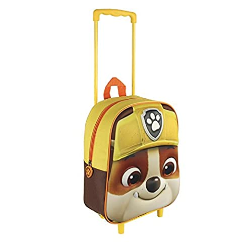 Paw Patrol 2100001608 Rubble Travel Trolley with 31 cm 3D