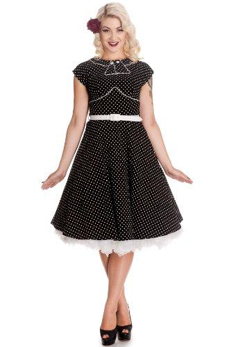 Hell Bunny Kleid NOREEN DRESS 4300 Black