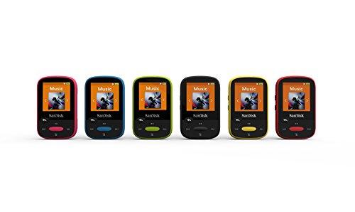SanDisk SDMX24-004G-G46Y Reproductor MP3 de 4 GB amarillo