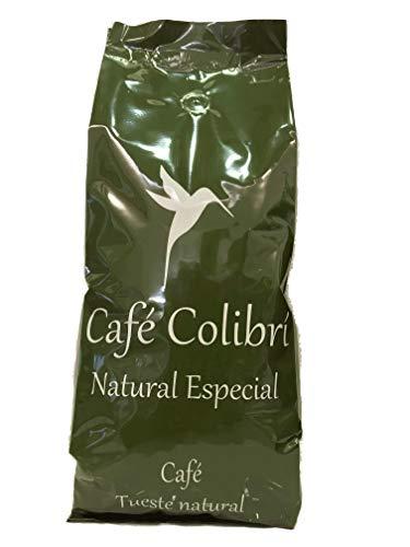 Café en Grano Natural Especial Robusta 60% Arábica 40% (10 origenes) (Tostado artesanal) (1kg) Café Colibrí, Gourmet, Origen Brasil y Colombia