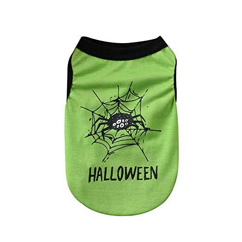 Wasser Kostüm Geist - Dastrues Haustier-Hundekleidung-Nette Sleeveless Weste-Halloween-Kostüm-Geist-Spinnen-Muster-Haustier-Westen